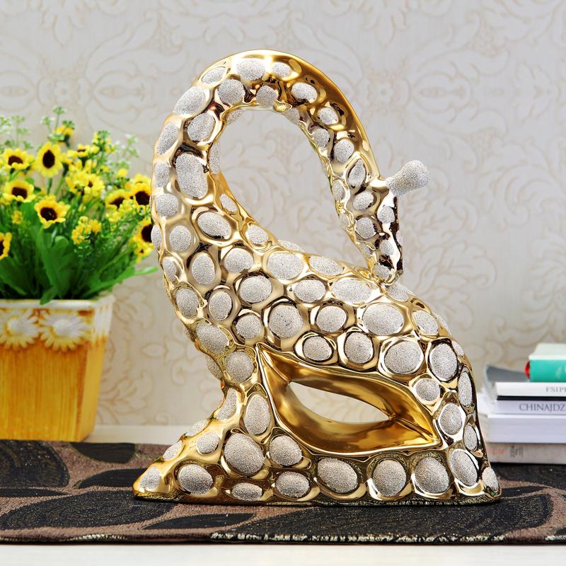 Ceramic plating tv cabinet decoration furniture accessories decoration modern brief fashion crafts(China (Mainland))