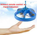 Infrared Sensor Flying Saucer UFO Hand Induced Hovering Floating Flight Hand Movement Toy UFO RC Remote