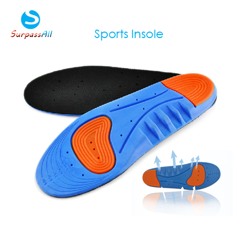 SOFT PU Orthotics Arch Support Orthopedic Palmilhas Insoles Basketball Sports Athletic Running shoe insoles Pads FOR Men/women(China (Mainland))