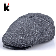 Free shopping 2013 autumn and winter hat for man benn beret male fashionable casual fashion cap quinquagenarian beret