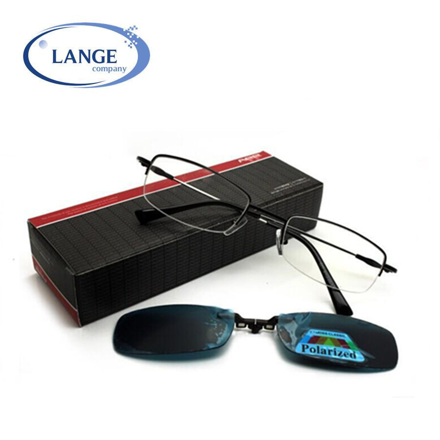 New arrival wide angle rimless myopia frame titanium rimless eyeglasses frame of myopia eye box Men commercial