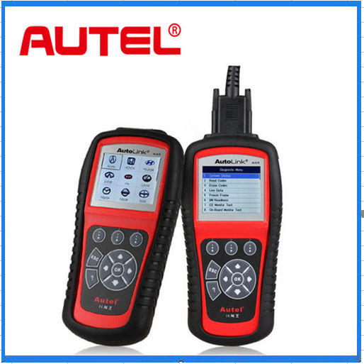 AL-619 Original ABS/SRS + CAN OBDII Diagnostic Scan Tool Turn off Check Engine Light Clears Codes Resets Monitors(China (Mainland))