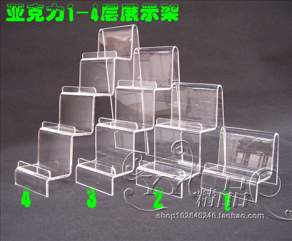 Acrylic rack display rack purse frame combination mobile phone holder stationery books display rack(China (Mainland))