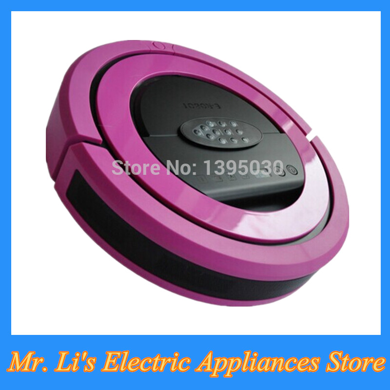 4pcs/lot 2016 Newest Robot Wireless Vacuum Cleaner Ultrasonic Wall, 2pcs Side Brush Random Household Cleaning Machines QQ5(EV01)(China (Mainland))