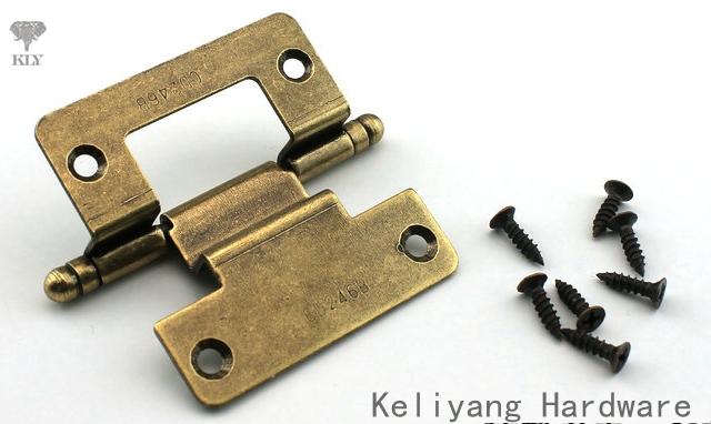 2in Cabinet Hardware Furniture Hinge With screws,craft hinges(China (Mainland))