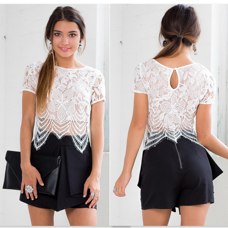 Shop from the world's largest selection and best deals for Women's Lace Tops and Blouses. Free delivery and free returns on eBay Plus items.
