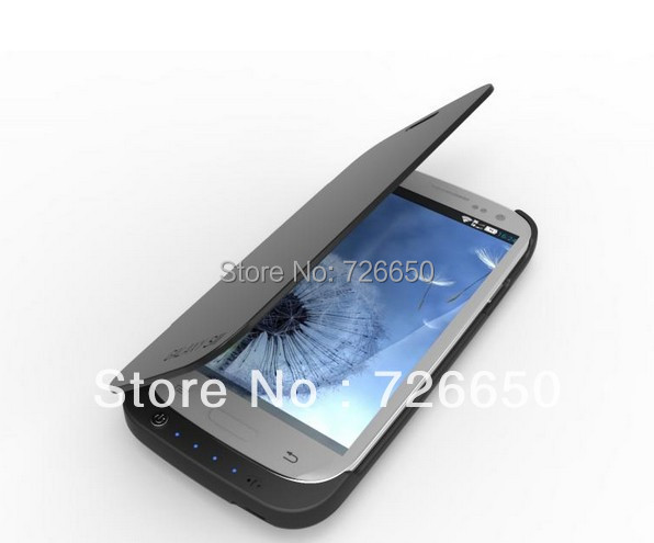 BRAND NEW EXTENDED BATTERY CHARGER POWER FOR SAMSUNG GALAXY III S3 i9300 JUICE PACK CASE COVER(China (Mainland))