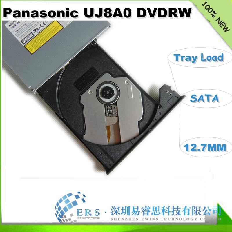 Free Shipping for Brand New 12.7MM SATA Laptop slim Optical Drive dvd RW UJ8E0(China (Mainland))