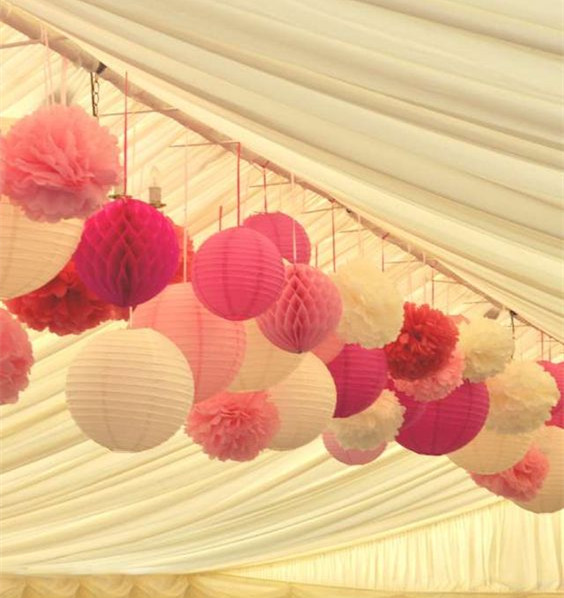 Online Buy Wholesale Paper Pom Decoration Ideas From
