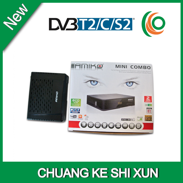 2015 StarHub box Singapore amiko cable TV Receiver+ wifi adapter, same as streambox C1(China (Mainland))
