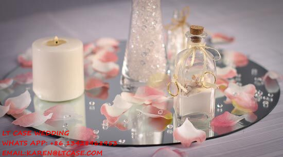 50pcs 30cm Diameter Round/square Acrylic Mirrors For Wedding Table  Centerpieces Or Wall Mirror Decor