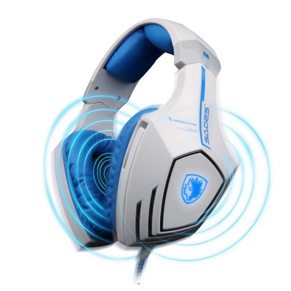 SADES A60 Professional Gaming Headset Vibration Function 7.1 Surround Sound Headphones for PC gamer Earphone<br><br>Aliexpress