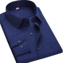 Buy 4XL 5XL 6XL 7XL 8XL Large Size Men's Business Casual Long Sleeved Shirt White Blue Black Striped Male Social Dress Shirt Plus for $12.98 in AliExpress store