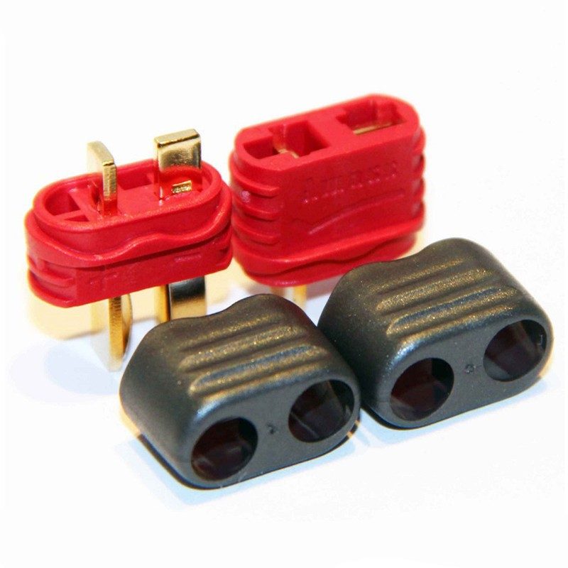 5 pairs / Amass High Quality T(Dean) Plug Male Female Bullet Plugs For RC Lipo Battery quadcopter multicopter