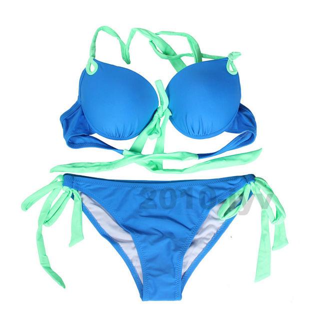 Sexy Женщины Push Up Bra Set Bangsheng Пляж Бюстгальтер Краткие Наборы