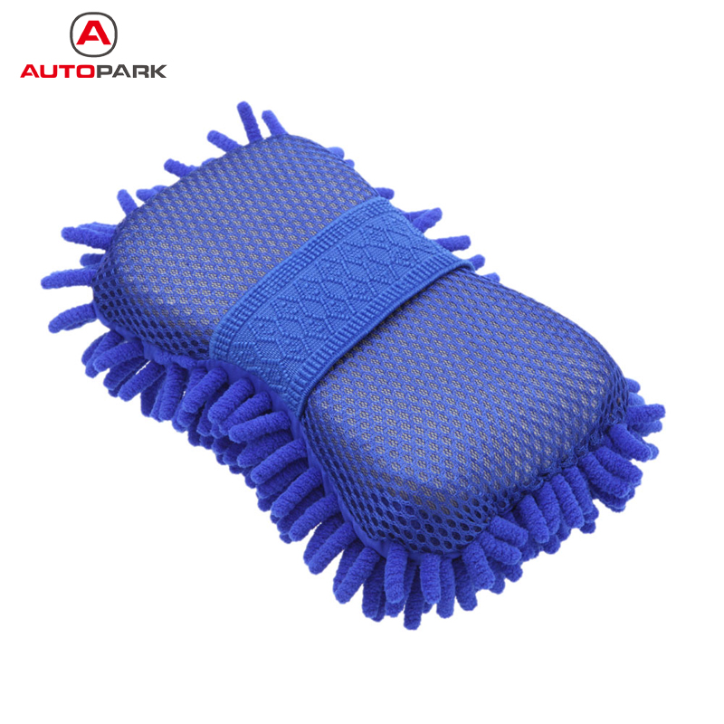 Hot Sale Microfiber Chenille Anthozoan Car Cleaning Sponge Towel Cloth Car Wash Gloves Car Washer Supplies Auto Cleaning Parts(China (Mainland))