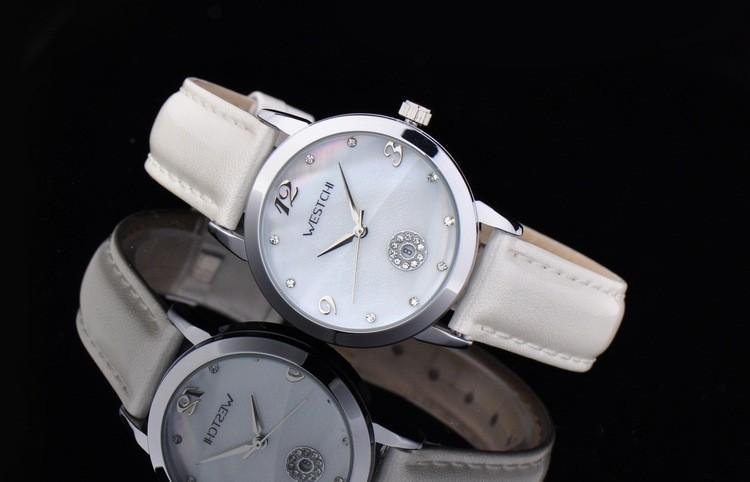2016 известный бренд WESTCHI натуральная кожа женщины кварцевые часы повседневная спорт watchess женщины наручные часы relogin masculino
