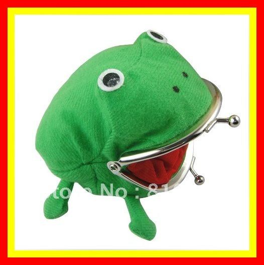 Free Shipping NARUTO Cosplay Accessory Brand New NARUTO Frog Type Plush Coin Purse/Wallet COSTUME HALLOWEEN