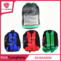 Racing Style JDM Bride Racing Backpack Special Design School Bag RS BAG008