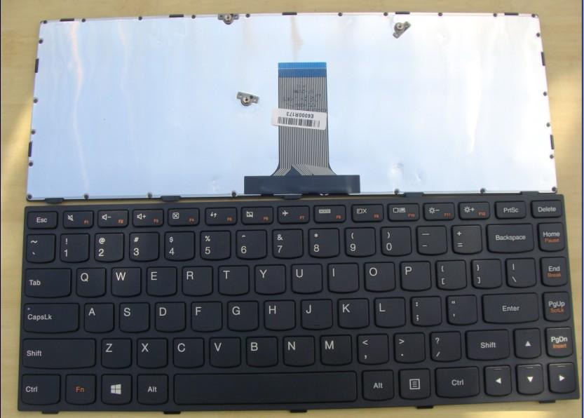 100% New Original Lenovo Flex 2 14 Black Laptop Keyboard English / US Layout - LYT Technology Co.,Ltd store