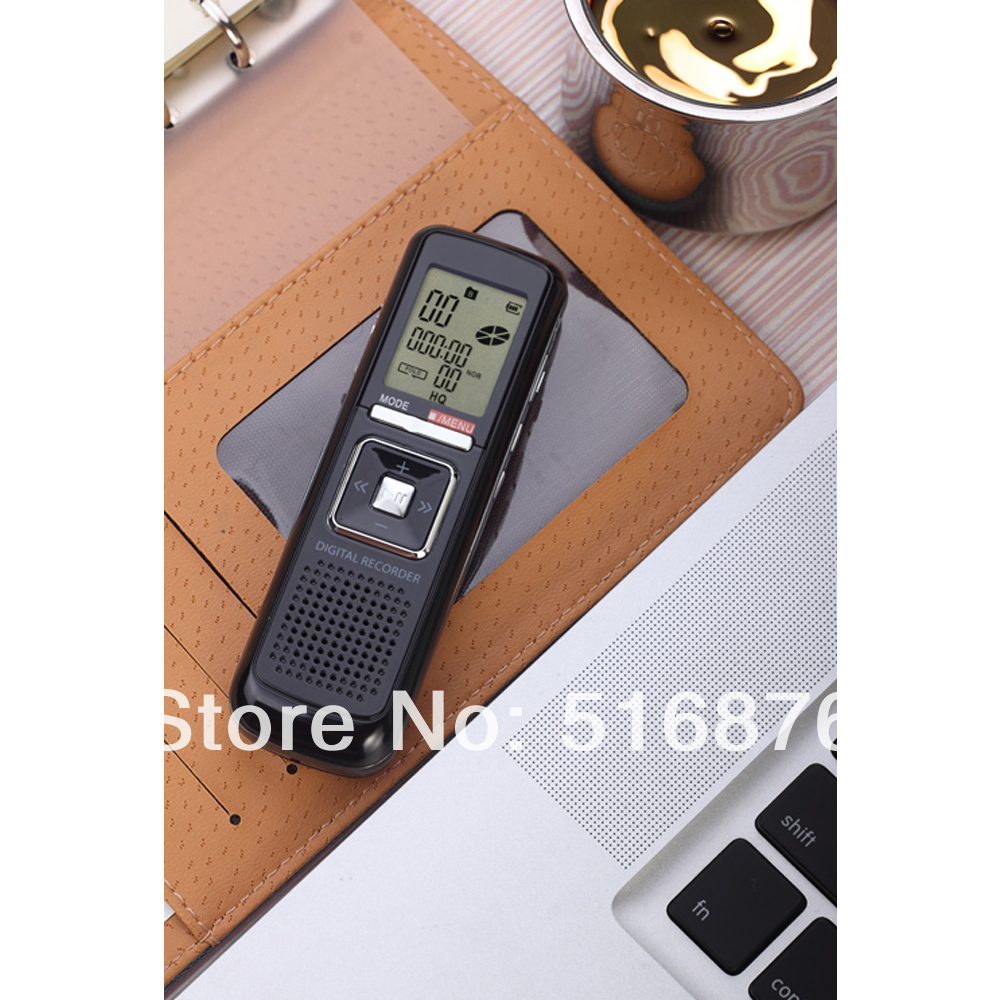Free Shipping 4GB 650Hr USB Digital Audio Voice Telephone Recorder Dictaphone MP3 Player E80-Black<br><br>Aliexpress