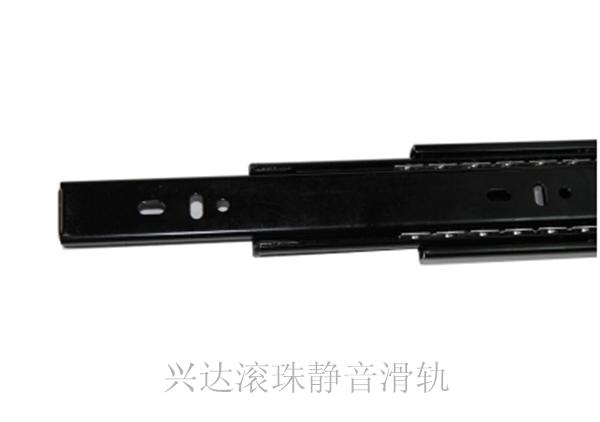 Drawer slide rail drawer track three rail slide cabinet drawer slide ball bearing silent<br><br>Aliexpress