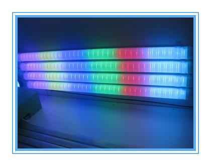 16 Pixels/M full color RGB LED Digital Tube,TM1809 IC,144pcs Led,IP65 with Aluminum Base;DC12V input 20 pcs /LOT(China (Mainland))