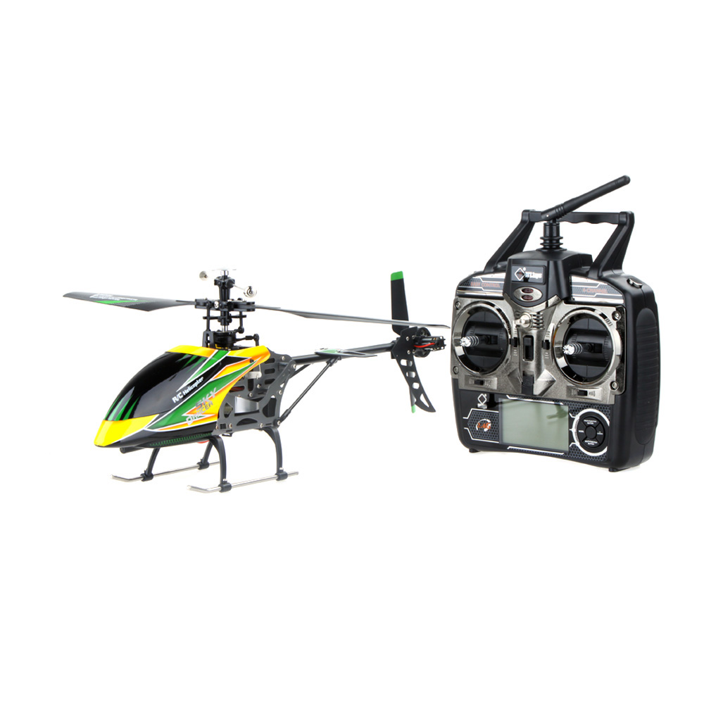 High Quality Original Wltoys V912 Large 4CH Single Blade RC Helicopter 2.4GHZ Radio System RC Plane with Mode 2 Transmitter(China (Mainland))