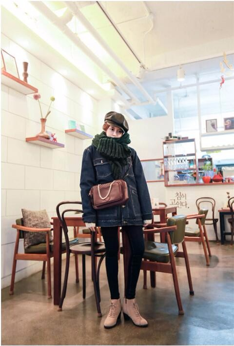 2016 new winter Korean version of the hit color solid Male and female couple thick warm wool knit scarf  women scarves hot