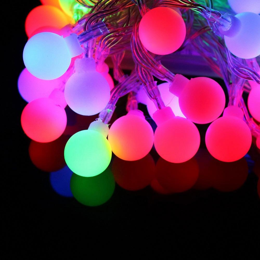 TSLEEN Cheap+New Hot 40/70 Leds Lantern Balls LED String Lamp Christmas Xmas Wedding Window Room Garden Garland Tree Light EU(China (Mainland))