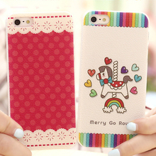 Phone Cases for iPhone 5 5S SE Case litchi colored drawing Cover mobile phone bags & cases Brand New Accessories(China (Mainland))