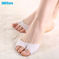 2 Pcs Silicone Toe Sleeve Foot Protection Ballet Shoe High Heels Toe Pads Gel Protective Care