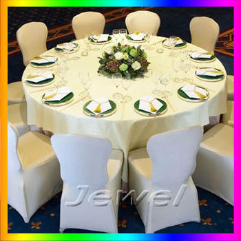 Free shipping 1 piece white spandex chair cover for sample High quality  lycra chair cover for wedding or party