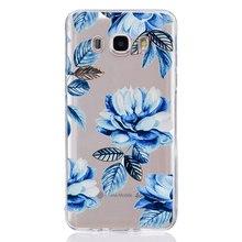 Для Samsung Galaxy A3 A5 2016 2017 prime J1 J2 J3 J5 J7 красочный чехол из ТПУ Мягкий розы роспись дизайн чехол, Fundas C333(China)