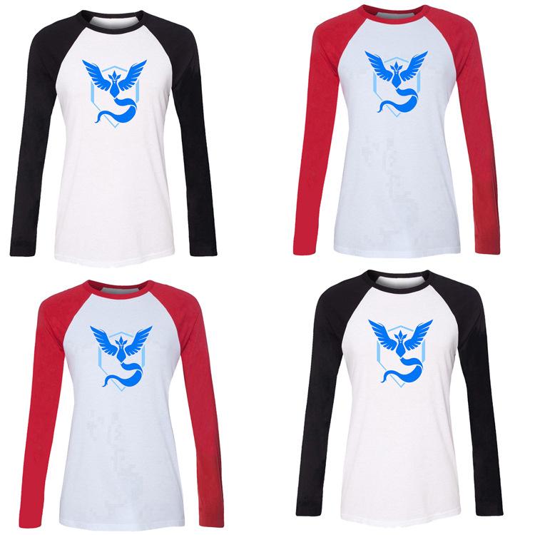 2016 summer cartoon font b pokemon b font tops t shirt women print font b pokemon