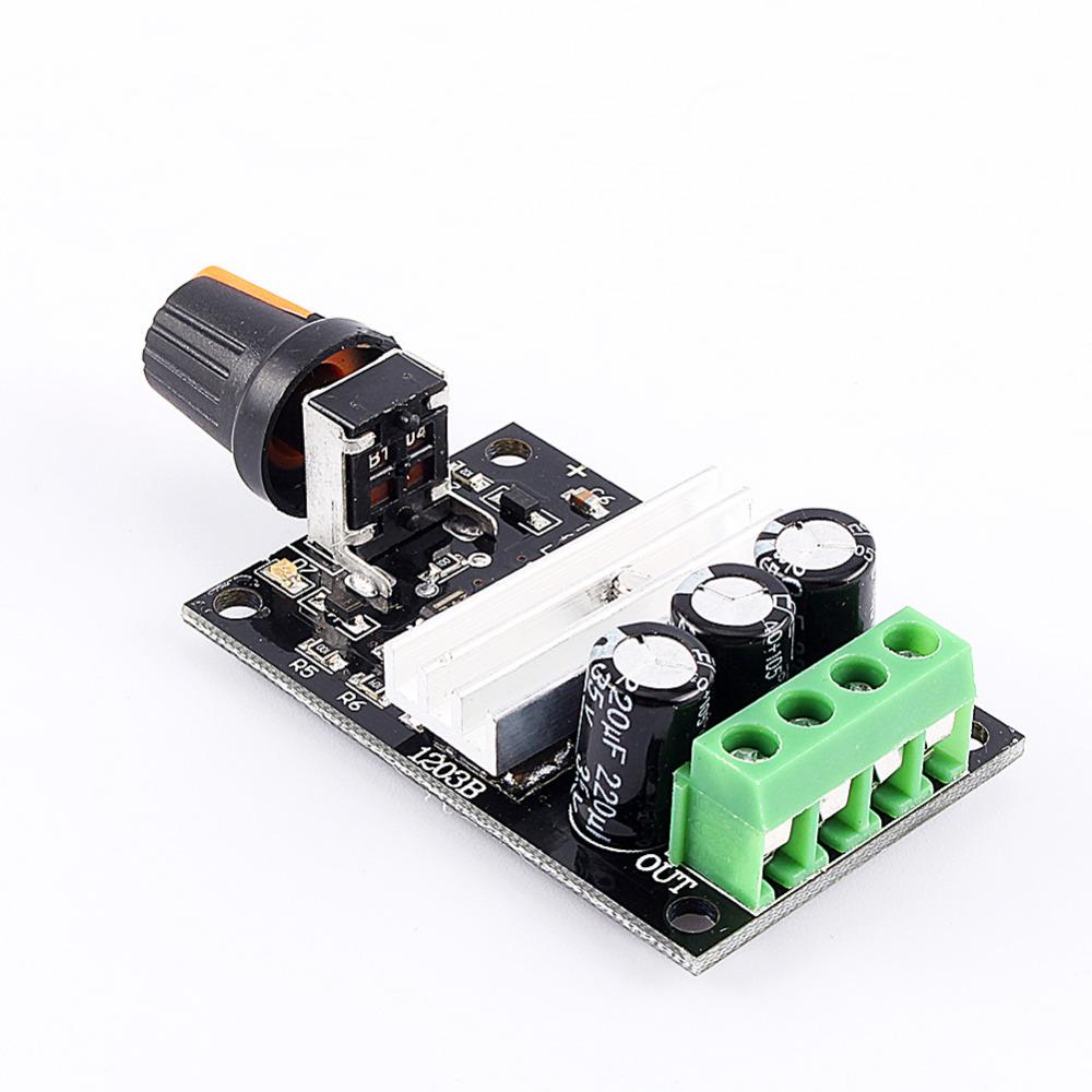 Pwm Dc 6v 12v 24v 28v 3a New Motor Speed Control Switch