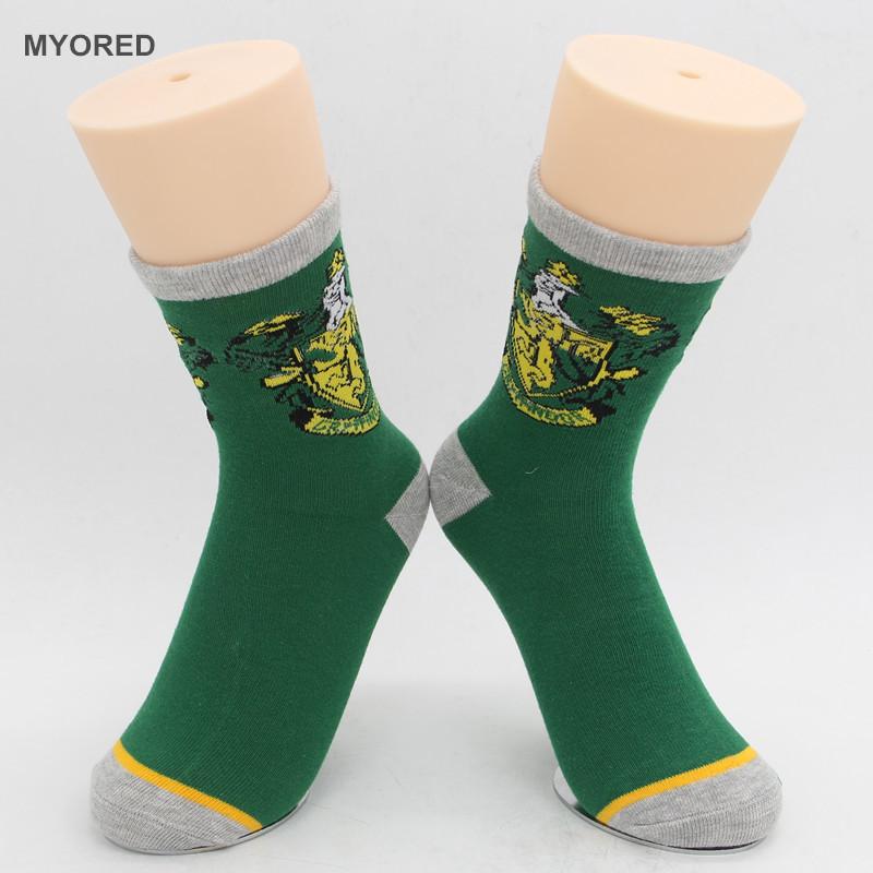 Harry Potter Gryffindor Slytherin Cotton Socks