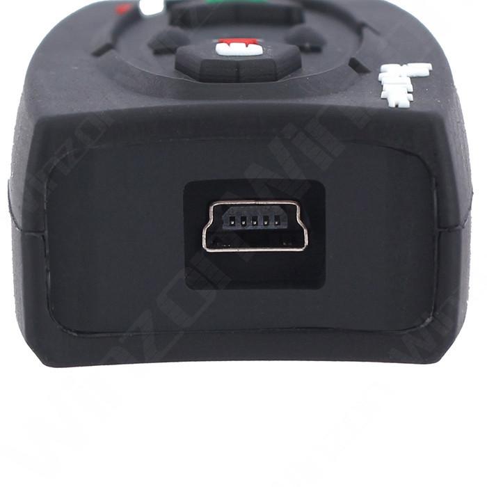 V2 Motorcycle Helmet Bluetooth Intercom Headset Motorbike BT Interphone Headsets With Soft Earphone
