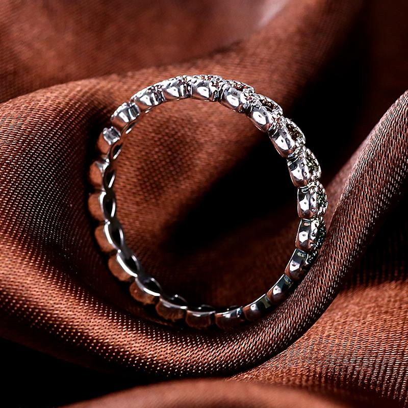 Authentic 925 sterling Silver Wedding Rings Hollow Out Heart Women Ring Compatible European Fit Pandora Original Rings R44