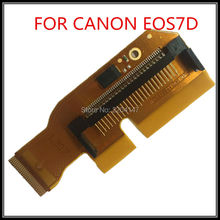 Buy 100%new original 7D card slot cable canon 7D Card slot flex slr Camera repair parts free for $21.75 in AliExpress store