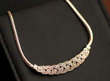 star of Western-style sweater chain statement necklace chokers necklaces crysatl cz diamond jewelry for women HL0142