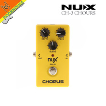 Buy NUX CH-3 Classic Analog Chorus Guitar effects pedal Chorus guitarra effects embellishment tone true bypass free for $23.94 in AliExpress store