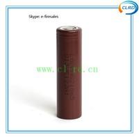 Hot sale LG HG2 3000mah 20A battery 3.7V LGHG2 new battery with flat top (1 pc)
