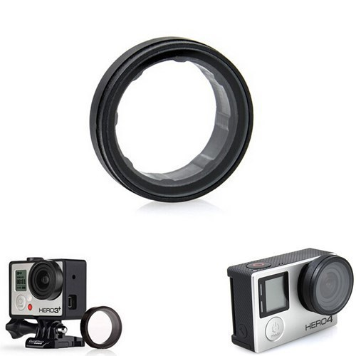 Gopro Accessories Gopro UV Mirror Lens Protector Lens Protective Cover Mount for GoPro HD Hero 3 3+ Plus 4 Camera Mounts