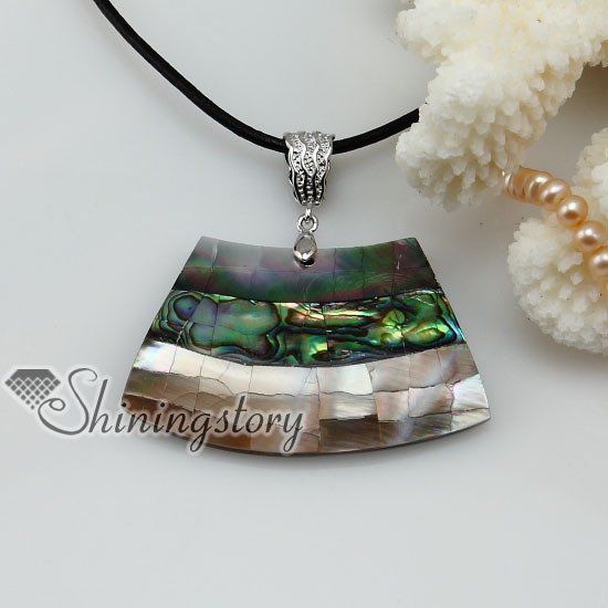 boat shap seawater Penguin rainbow abalone seashell mother of pearl oyster shell pendant necklaces 2013 ladies fashion jewelry(China (Mainland))
