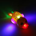 Electric Duckling Flashing LED Light Yellow Duck Toy Baby Kid Music Swimming Duck Electronic Toys