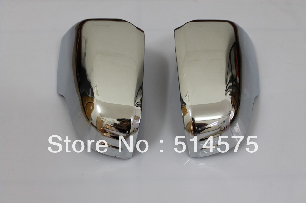ABS chrome rearview mirror cover trim turn light space fit Honda CRV CR-V 2007 2008 2009 2010 2011 - Fashion Car store