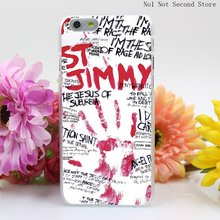 559SD Green Day St Jimmy Hard Clear Transparent Cover iPhone 4 4S 5 5S SE 5c 6 6s Plus Phone Cases - No1 Not Second Store store