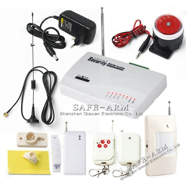 Wireless Home Security GSM Alarm System with auto dial gsm intelligent alarm system(China (Mainland))