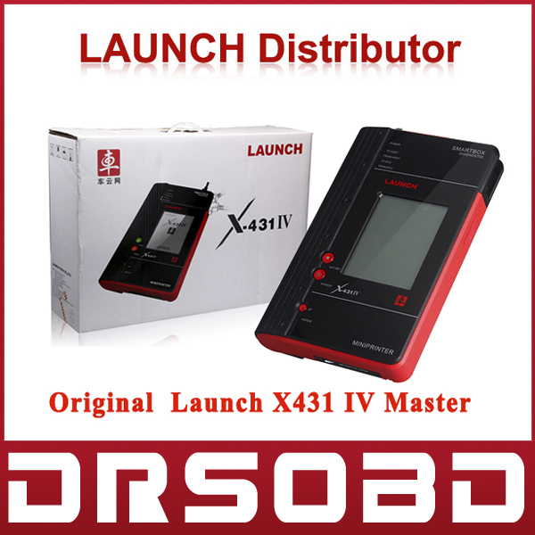 [Authorized Distributor] Launch X431 IV Master Launch X-431 IV Master Free Update on Launch Official Website(China (Mainland))